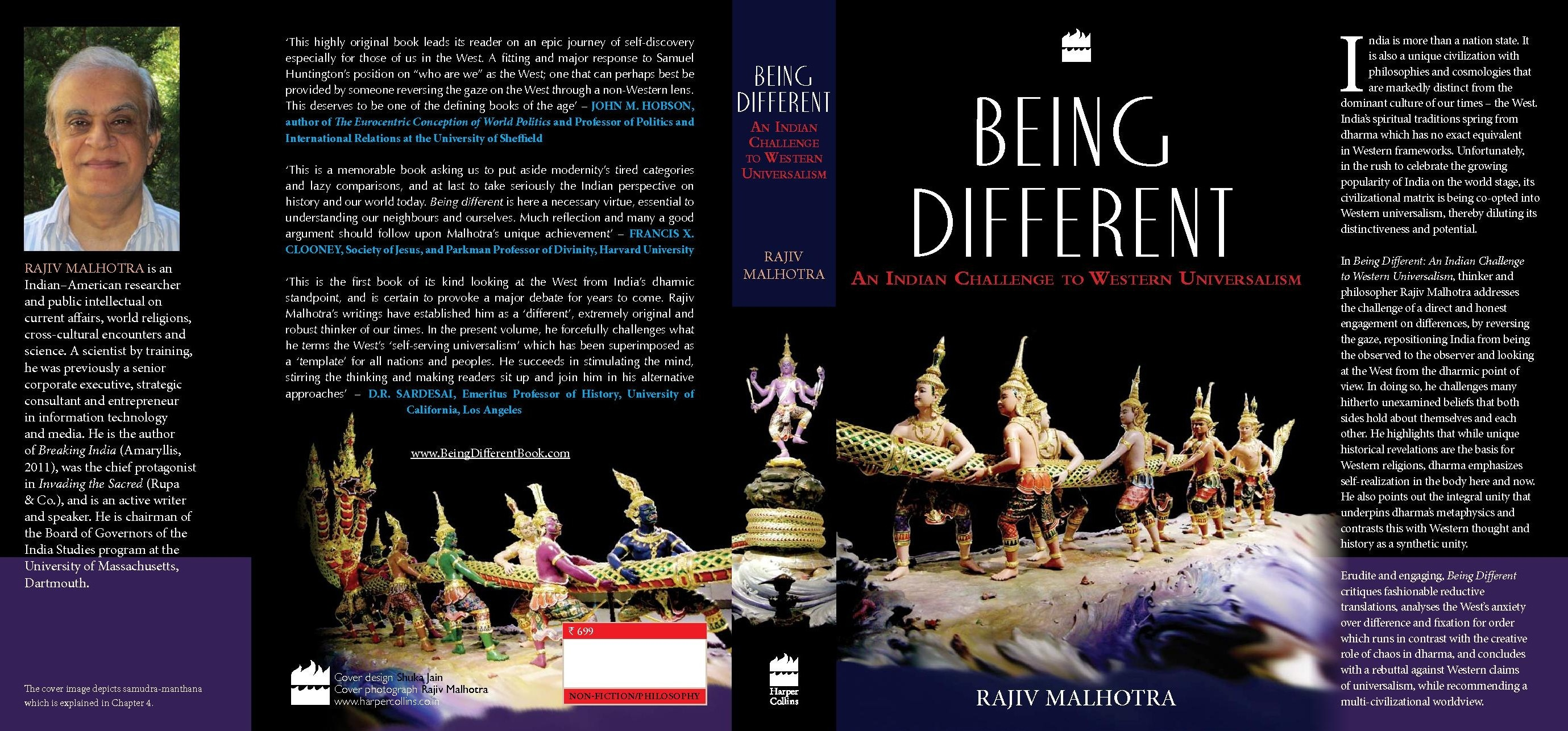 Being Different Book Cover